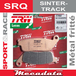 Plaquettes de frein Avant TRW LUCAS MCB 598 SRQ Honda CBR 600 F  1997
