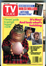 TV Guide April 27-May 3 1991 Guide To Spring's Biggest Month EX 011216jhe