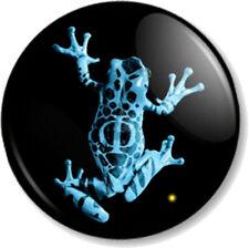 """Fringe Frog 25mm 1"""" Pin Button Badge TV Series Sci-Fi FBI Symbol Image Logo"""