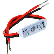 1x LED Dimmer Controller 12V Switch ON/OFF LED Strip Light Dimmer Conteroller