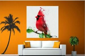 COLORFUL BEAUTIFUL WATERCOLOR PAINT Canvas collection Home decor wall print art