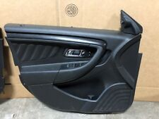 2011 FORD TAURUS SHO LHF DRIVER DOOR PANEL SKIN TRIM COVER