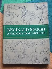 ANATOMY FOR ARTISTS - REGINALD MARSH - DOVER PUBL. 1970 A12