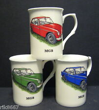 MG MGB Hard Top Voiture Porcelaine Fine Tasse Becher