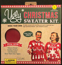 Ugly Christmas Sweater Kit - Red, Men's Large