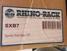 sxb7 rhino rack sportz 1350 mm black 53 inch roof rack