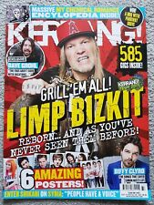 Kerrang! Magazine 1483 Sep 13 Limp Bizkit, MCR Encyclopedia, Dave Grohl, Biffy