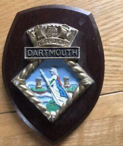 BRNC Royal Navy Dartmouth Plaque Militaria