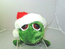 """RUSS BERRIE LIL PEEPERS SANTA SHECKY SOFT PLUSH WITH BIG EYES SIZE 9"""""""