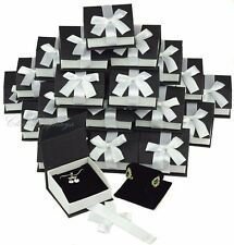 Earring Gift Boxes for Pendant Black Jewelry Gift Box T Shaped Earring Box 36 Pc