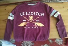 Primark Harry Potter Gryffindor Quidditch Jumper Sweater Size Large UK 14-16 new