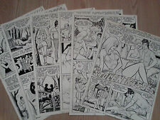 Sal Gentile FOR LOVERS ONLY #84 ORIGINAL COMIC ART Complete Story 6 Pages 1976