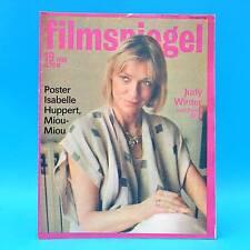 DDR Filmspiegel 19/1986 Golzow Isabelle Huppert Miou-Miou Elisabeth Taylor P