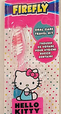 Hello Kitty Travel Toothbrush With Cap 2 pc Soft Brush Child Oral Care Anime