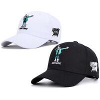 Men Women Cartoon Hip-Hop Rabbit Letters Embroidery Baseball Cap Sports Hats