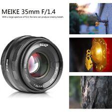 Meike 35mm F1.4 Large Aperture Manual Focus Lens APS-C For Nikon J1 J2 J3 J4 J5