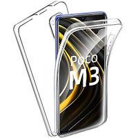 COVER per Xiaomi POCO M3 CUSTODIA Fronte Retro 360° TPU PROTEZIONE TOTALE FULL