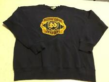 Vintage Notre Dame Large Raised 3D Logo Fighting Irish Sweatshirt Adult Size XL