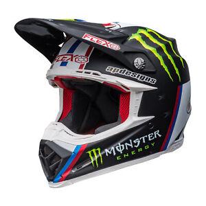 Bell Helmets Moto-9s Flex Tomac Monster Pro Circuit Replica Mens Helmet Moto -