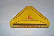 AMAZING MONTECRISTO ANNIVERSARY Ceramic Cigar Ashtray BRAND NEW