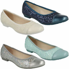 Clarks Slip - on Party Synthetic Shoes for Girls