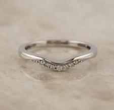 18ct White Gold Diamond Band Ring