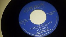 AL MORGAN Tears On My Pillow / Chained To A Memory LONDON 30006 POP JAZZ 45 7""