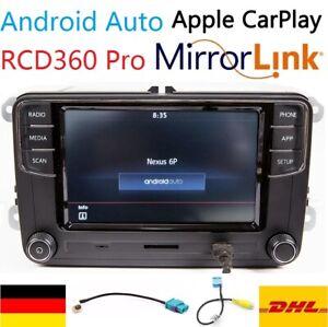 Autoradio 6.5'' RCD360 RCD330 187B Androidauto Carplay MirrorLink BT SD für VW
