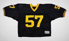 VTG 1980's CHAMPION 57 black mesh football jersey size XL