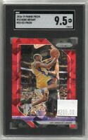 Kobe Bryant 2018-19 Panini Prizm Red Ice Prizm #15 Lakers SGC 9.5
