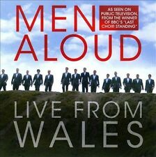 NEW Men Aloud: Live from Wales (Audio CD)