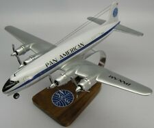 Douglas DC-6 Pan Am Airways DC6 Airplane Wood Model Regular