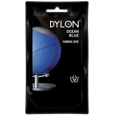 OCEAN BLUE DYLON HAND WASH FABRIC CLOTHES DYE 50g