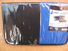UNUSED SEALED 120CAPACITY ALPS CD CARRYING CASE WITH ANTI-SCRATCH SLEEVES.
