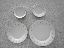 Vintage Zylstra fine China Celestial Atomic dinnerware dishes Eames Mid Century