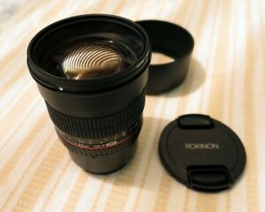 Camera Lens - Rokinon 85mm F1.4 Micro Four Thirds