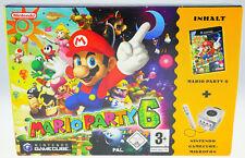 Mario PARTY 6 BIG BOX SET NINTENDO GAMECUBE NGC NUOVO NEW SEALED SIGILLATO RAR