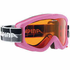 ecf566378fd Alpina Carvy 2.0 Junior Ski Goggles Rose 7076458