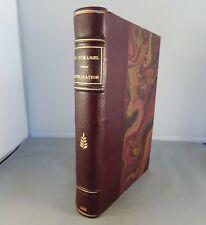 GEORGES DUHAMEL / CIVILISATION / 1921 CRES LES MAITRES DU LIVRE (BERTHOLD MAHN)