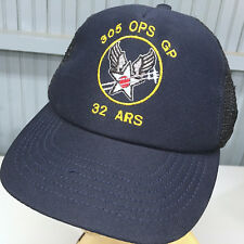US Air Force 305 OPS GP 32 ARS VTG Baseball Cap Hat Snapback Made in USA