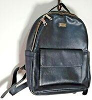 Designer Osprey London Rucksack Backpack Bag Black Leather