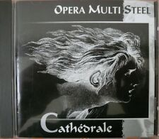 CD OPERA MULTI STEEL Cathédrale 1997 FRANCE New Wave Synth-Pop Minimal BONUS EP