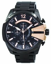 Diesel Quartz Chief Chronograph Black Dial DZ4309 Mens Watch