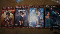 kAMI kaze #1-4 bOOKS Manga Anime Comic Books  Rare Tokyopop