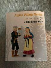 Dept 56 Alpine Village Accessory A Little House Music Nib