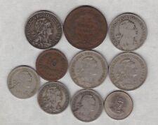 10 pièces du Portugal datée du 1883 To 1977 in (environ 5021.58 cm) fine ou Meilleur État