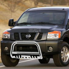 Fit 05-16 Nissan Frontier/Pathfinder Chrome Bull Bar Push Bumper Grille Guard