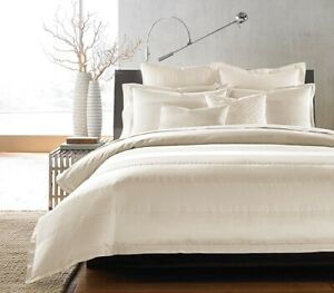 Hudson Park Bedding Textured Stripe Collection King Bedskirt, King Size
