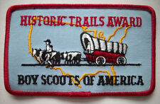 Historic Trails Award embroidered patch Boy Scouts