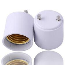 Pack 2 GU24 to E26 / E27 Adapter Convert Pin Base Fixture To Standard socket  US